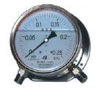 CYW-153B stainless steel differential pressure gauge